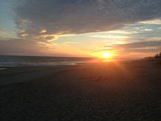 #Sunset en Pie de la Cuesta - Acapulco Mexico