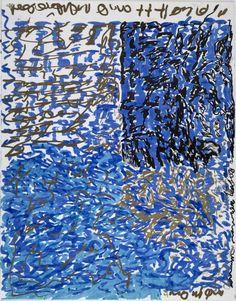 cavinmorrisgallery:  J.B. Murray Untitled, c. 1978-1988 Marker on paper 14 x 11 inches 35.6 x 27.9 cm  JBM 295