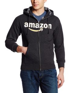 Amazon Gear Unisex 10-Ounce Zip Hooded Sweatshirt, Charcoal Heather, Medium- #fashion #Sports find more at lowpricebooks.co - #fashion