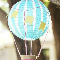 How to Make a Vintage Hot Air Balloon
