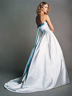 just a touch of blue Alice gown