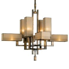 Perspectives No. 733840 Chandelier by Fine Art Lamps