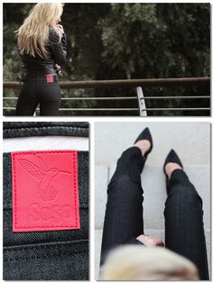 """SOSO """"kayla petite"""" limited edition jeans - http://www.sosoclothing.com/woman/kayla-petite.html  Designed by Tess Montgomery (hey, that's me!)"""