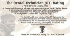 I was a Dental Technician Rating Joining The Navy, Dental Technician, United States Navy, Military, Us Navy, Military Man, Army