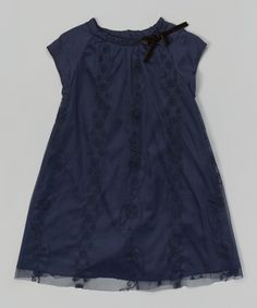Loving this Encre Soiree Cap-Sleeve Dress - Infant & Toddler on #zulily! #zulilyfinds