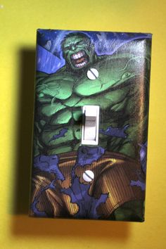 The Incredible Hulk Comic Book Superhero Light by ComicRecycled