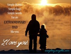 Just wanted to extend my warmest wishes to all the good, loving fathers out there on Father's Day. You, my friends, are one of a kind. God Bless and keep you, and may you continue to prosper. Dad's…