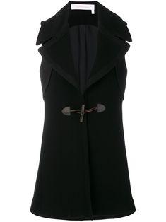 See By Chloé sleeveless toggle coat