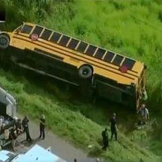 TERRIFYING FOOTAGE OF SCHOOL BUS FLIPPING http://ift.tt/2dtyuaW