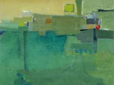Leslie Allen -- Being Green , 2011 Formatting Painting   36 x 48 in Oil on canvas over panel