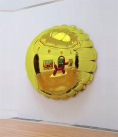 Moon (Yellow) | Jeff Koons | 1995-2000 | Celebration