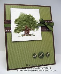 Lovely as a Tree - great masculine card