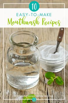 DIY Masque : Description Ever wonder what's in your mouthwash? Our 10 Easy-to-Make Mouthwash Recipes feature minimal, all natural ingredients you can feel good about. Pin to your DIY board! Homemade Skin Care, Diy Skin Care, Skin Care Tips, Homemade Beauty, Homemade Blush, Homemade Moisturizer, Clean Beauty, Diy Beauty, Beauty Tips