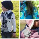 """Der """"Casual Sweater"""" ist ein bequemer Pullover für Kinder, der jedoch durch liebevoll ausgearbeitete Details zum echten Hingucker wird! Markenzeichen sind hier der coole Kragen und die betonte..."""