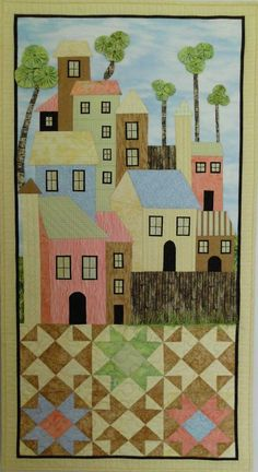 """Beach Shack"" by Shirlee Carter (from The Quilt Show)"