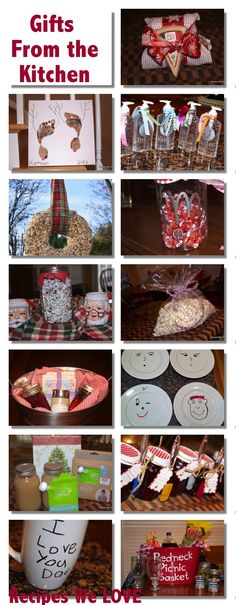 12 CHEAP and EASY gift ideas... that the kids can help with.... Gift giving does not have to break the budget