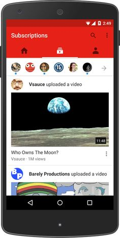 Official YouTube Blog: Say hello to the redesigned YouTube mobile app