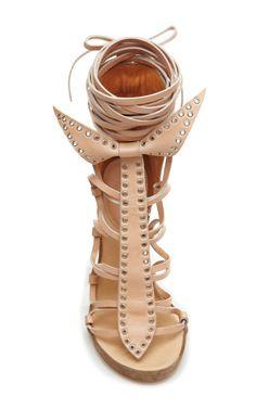 Eloa Bow Tie Sandal by Isabel Marant - Moda Operandi