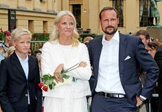 Princess Mette-Marit - 10th Anniversary for Haakon and Mette-Marit