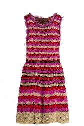 Lace Layered Dress by MISSONI. Available in-store and on Boutique1.com