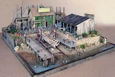 A few months ago, I stumbled on this guy's website  while searching for some O Scale diorama ideas. His dioramas are really very nice and in...