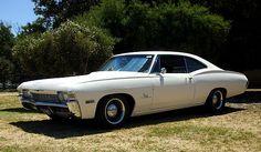 Chevy Impala Coupe white