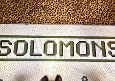 This original mosaic was spotted @gryphon_tea_room located in the ornate 1926 Scottish Rite Building just steps from @scaddotedu. A great place to find authentic #Savannah hospitality! #tileinthewildwednesday #solomons #tearoom #tile #mosaic #selfeet #tileaddiction #lookdown #ihavethisthingwithtiles #amazingfloorsandwanderingfeet #floorcore #fromwhereistand #tileinthewild #historicpreservation