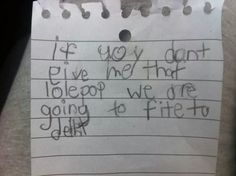 Kids Are Great At Making Us Laugh, But These Written Notes Are Pure Comedy Gold [MOBILE STORY]