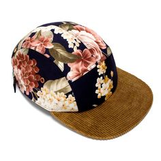 MOUPIA — MOUPIA Floral/cord 5 Panel hat