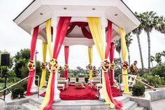 Mandap http://www.maharaniweddings.com/gallery/photo/58557 @MarriottNB/newport-beach-marriott-hotel-spa-weddings