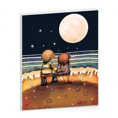 The Stars, The Moon And The Tide by Karin Taylor | Artist Lane