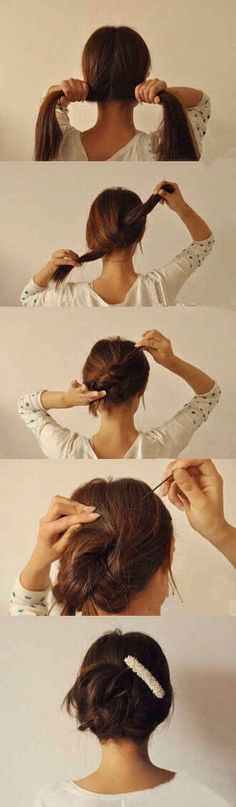 Lazy Girl Hairstyle Hacks #Beauty #Trusper #Tip