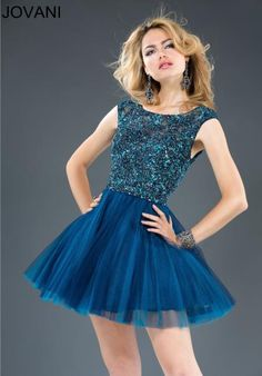 Jovani 923 Jovani sexy short party dress features multicolor ...