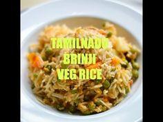 Tamilnadu Vegetable brinji saadam with coconut