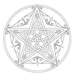 Mandala's tekenen met Hannie de JongPicture 33 «   Kleurplaten