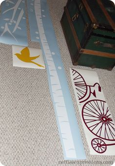 Silhouette Cameo Tips  Tricks - Netties Expressions...cutting long strips of vinyl