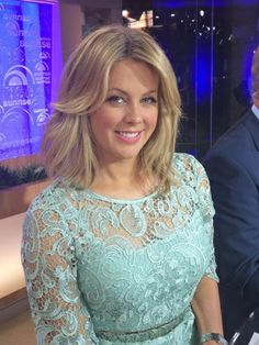 Samantha Armytage I Nikki Lace Dress I Cameron-Hollyer Jones Make Beauty, Sexy Older Women, Actor Model, My Hair, Lace Dress, Pin Up, Celebrities, Womens Fashion, Image