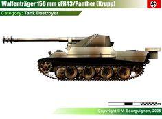Waffenträger für 15cm sFH43