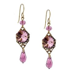 Vintage Love Earrings   Fusion Beads Inspiration Gallery