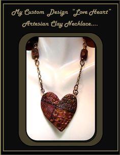 Love heart Necklace Heart jewelry mother by RosesWireArtJewelrY, $56.00