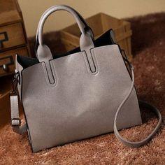 Leather Bags Handbags Women Famous Brands Big Women Casual Bags Trunk Tote Spanish Brand Shoulder Bag Ladies large Bolsos ND153