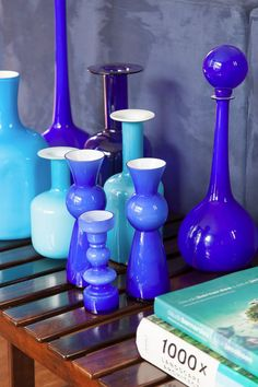 Casa IV, San Paolo, 2014 - Suite Arquitetos #blue #vases