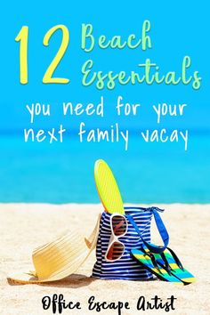 Headed to the beach with family? Taking a long beach road trip with friends? Don't head to the ocean without these 12 beach essentials. This list includes all the best beach gear you need before heading off to the Gulf Coast. With these beach accessories, you are sure to have an awesome vacay!