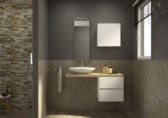 1000 images about progetta il tuo bagno on pinterest online gallery piccolo and liverpool - Vernice piastrelle bagno leroy merlin ...