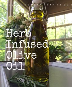 Recipe: Herb Infused Olive Oil
