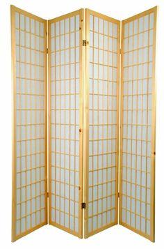 Japanse Kamerscherm Shoji Tana Natural 3 of 4 Panelen - Orientique.nl - Asian Living