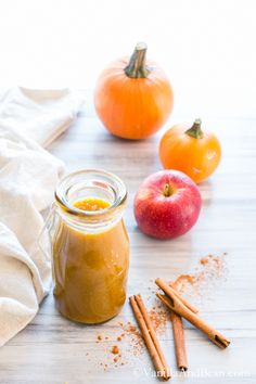 Autumn Spice Smoothie   Vanilla And Bean