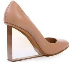 Maison Martin Margiela transparent heel shoes