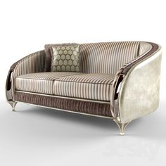 3d models: Sofa - Double sofa, ARREDO CLASSIC - ROSSINI
