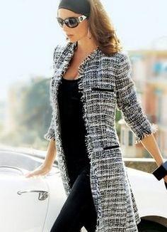 Картинки по запросу удлиненный пиджак женский с чем носить